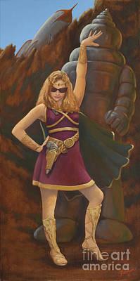 Princess Erika Ruler Of The Seven Lost Planets Art Print
