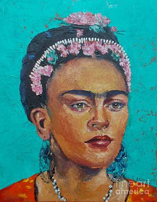 Painting - Princess Frida by Lilibeth Andre