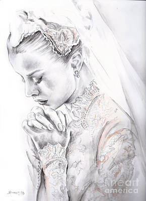 Princess Grace Art Print