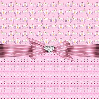 My Little Pony Digital Art - Princess Hearts And Desire by Debra  Miller