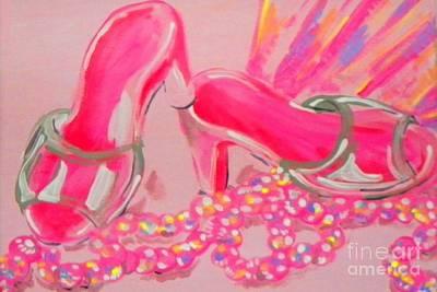 Painting - Princess Heels by Marisela Mungia