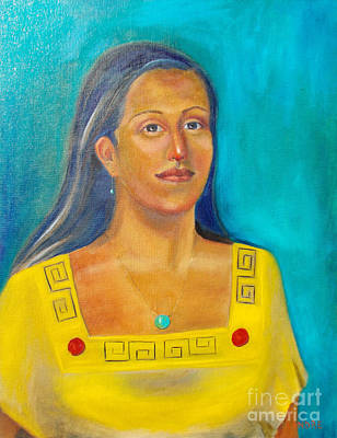 Painting - Princess Izta by Lilibeth Andre