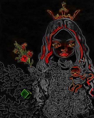 Princess Man Ray Homage Art Print by Brian King