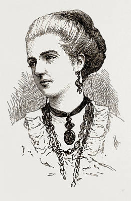 Princess Margherita Art Print by Litz Collection