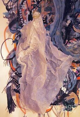 Gouache Mixed Media - Princess by Nancy Kane Chapman
