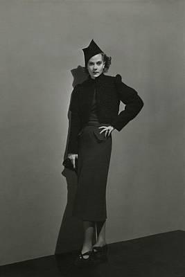 Andre-durst Photograph - Princess Natalia Paley Wearing A Bolero by Andre Durst