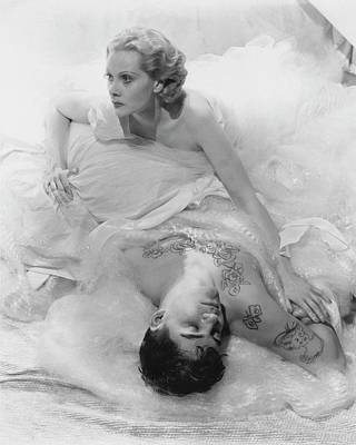 Pavel Photograph - Princess Natalie Paley And Victor Kraft by Cecil Beaton