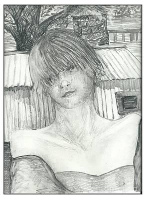 Princess Of Doubt Art Print by Joseph Wetzel
