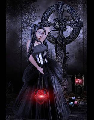 Princess Of Lost Souls Art Print