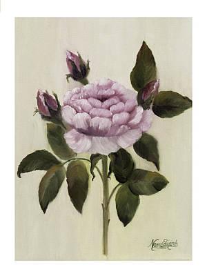 Painting - Princess Rose by Nancy Edwards