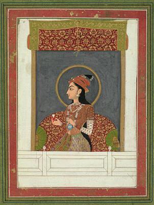 Princess Zinat Afza Begum Art Print