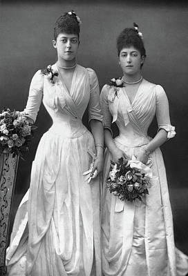Photograph - Princesses Of Wales, C1890 by Granger