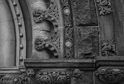 Princeton Architectural Detail Art Print by Glenn DiPaola
