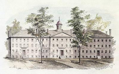 Princeton College, 1760 Art Print by Granger