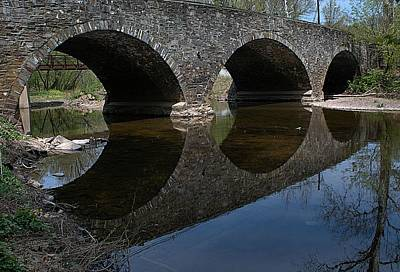 Princeton Photograph - Princeton Pike Bridge by Steven Richman