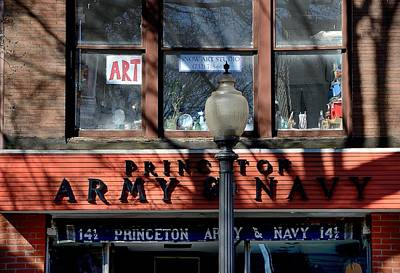 Princeton Photograph - Princeton Shopfront Series 4 by Steven Richman