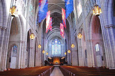 Photograph - Princeton University Chapel by Keith Swango