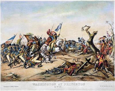 Princeton: Washington Art Print by Granger