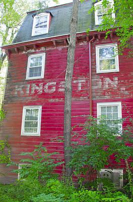Princeton's Kingston Mill Side View Print by Bill Cannon
