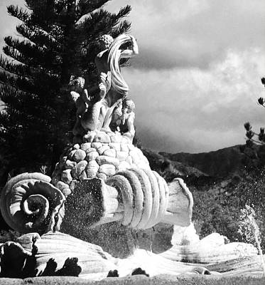 Art Print featuring the photograph Princeville Black And White by Alohi Fujimoto