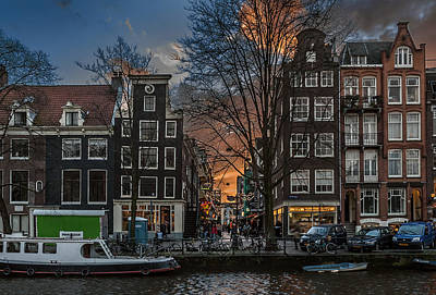 Photograph - Prinsengracht 743. Amsterdam by Juan Carlos Ferro Duque