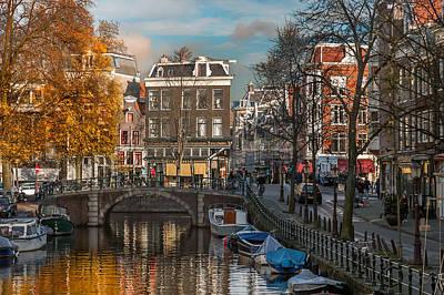 Photograph - Prinsengracht 807. Amsterdam by Juan Carlos Ferro Duque