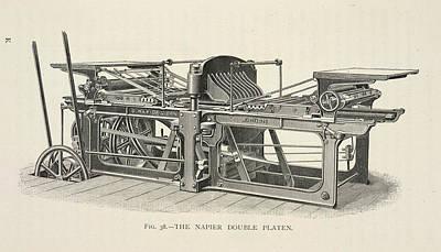 Printing Machine Print by British Library