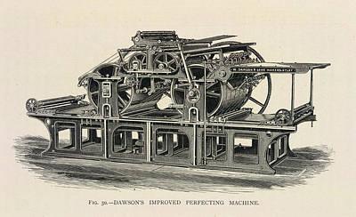 Printing Press Print by British Library