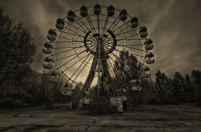 Pripyat Ferris Wheel Art Print