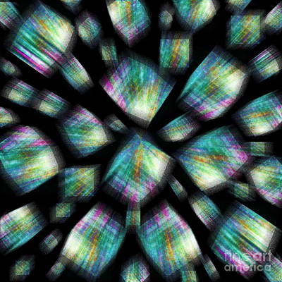 Photograph - Prism Cubed by Expressionistart studio Priscilla Batzell
