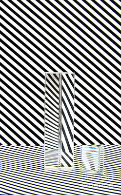 Op Art Photograph - Prism Stripes 2 by Steve Purnell