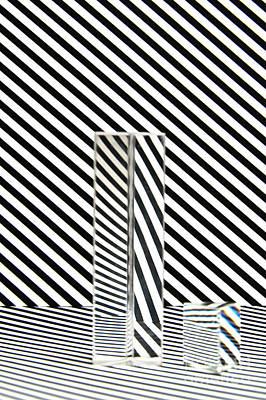 Op Art Photograph - Prism Stripes 4 by Steve Purnell