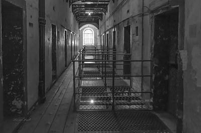 Photograph - Prison Doors by Sharon Popek