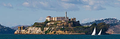 Alcatraz Island Photograph - Prison On An Island, Alcatraz Island by Panoramic Images