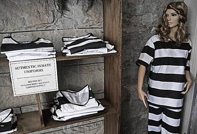 Mementos Mixed Media - Prison Tour 2 - Fashion Statement by Steve Ohlsen