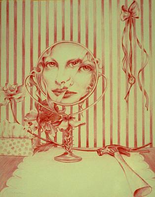 Hammer Drawing - Prisoner Of Time by Susan Helen Strok