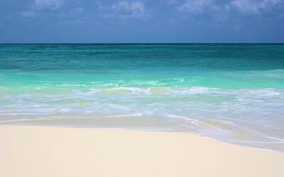 Pristine Beach Cancun Art Print