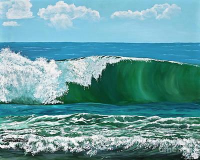 Painting - Pristine Ocean by Jayne Kerr