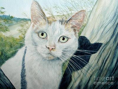 Prius The Hybrid Cat Original by Joey Nash