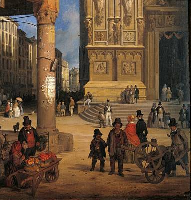 Private Collection. Detail. Cathedral Art Print by Everett