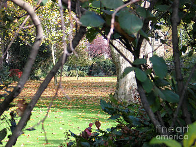 Photograph - Private Garden In London by Art Photography