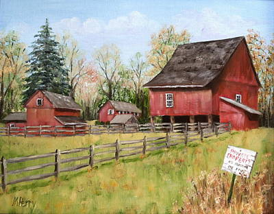 Painting - Private Property by Margie Perry