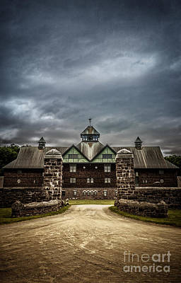 Stables Photograph - Private School by Edward Fielding