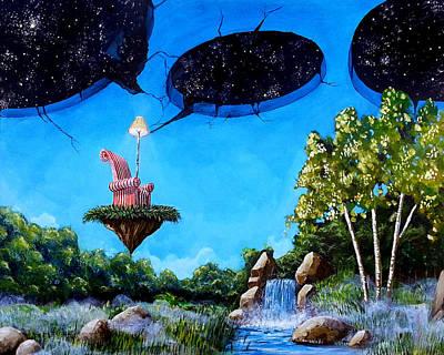 Painting - Private Space... by Mariusz Zawadzki