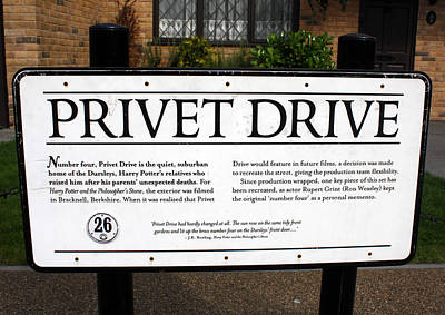 Photograph - Privet Drive by David Nicholls