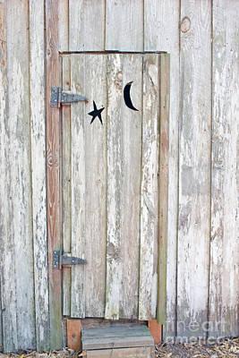 Privy Door Art Print