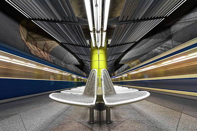 London Tube Photograph - Pro Vocation by Joe Plasmatico