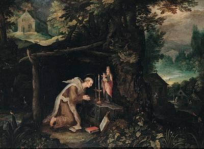 Probably Bruegel Jan Called Bruegel Print by Everett