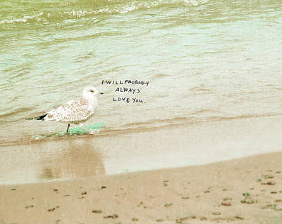 Beach Landscape Photograph - Probably by Lisa Barbero