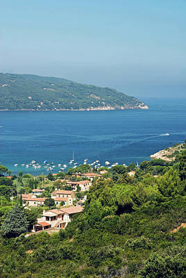 Procchio, Isola D'elba, Elba, Tuscany Art Print by Nico Tondini